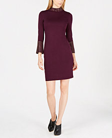 Calvin Klein Studded Sweater Dress
