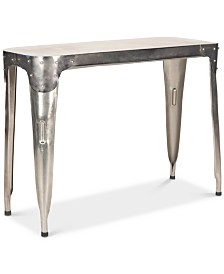 Classic Iron Console Table, Quick Ship