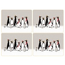 Sara Miller Penguin Set of 4 Placemats