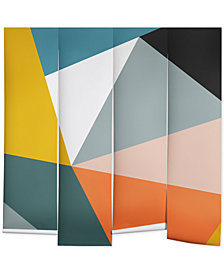 Deny Designs The Old Art Studio Modern Geometric 33 Wall Mural