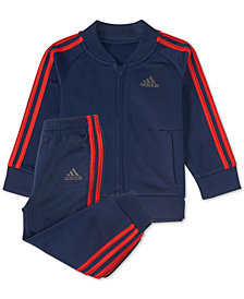 adidas Baby Boys 2-Pc. Home Run Full-Zip Jacket & Joggers Set