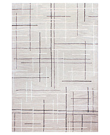 "Hotel Collection Area Rug, City Grid CG1 2'6"" x 4', Created for Macy's"