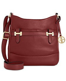 Pebble Bridle Crossbody, Created for Macy's