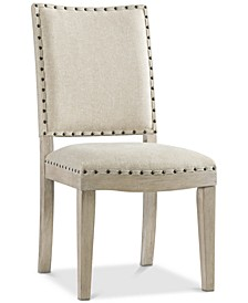 Parker Upholstered Side Chair, Created for Macy's