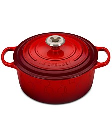 Le Creuset  Mickey Mouse 4.5-Qt. Round Dutch Oven