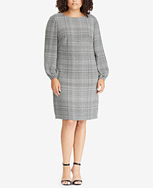 Lauren Ralph Lauren Plus Size Plaid Shift Dress