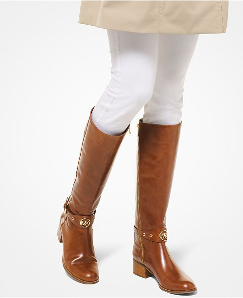 Michael Kors Heather Wide Calf Riding Boots Reviews Boots
