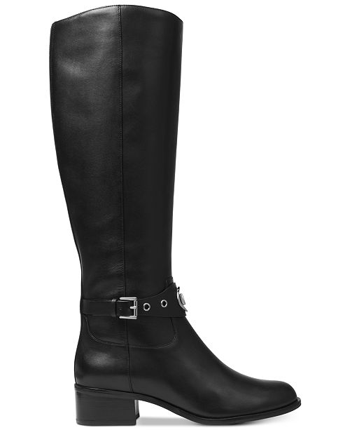 a1fdf74a53e4 Michael Kors Heather Wide Calf Riding Boots   Reviews - Boots ...