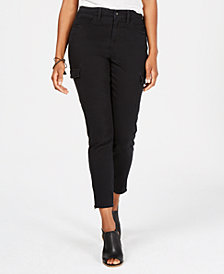 Style & Co Ankle-Zip Cargo Pants, Created for Macy's