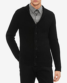 Calvin Klein Men's Super Chunky Cardigan
