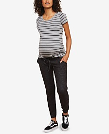 Motherhood Maternity Under-Belly Jogger Pants