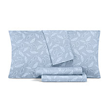 AQ Textiles Printed Modernist 4-Pc Queen Sheet Set, 350 Thread Count Cotton Blend