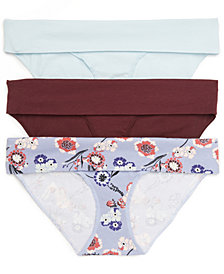 Motherhood Maternity Foldover Briefs, Set of 3