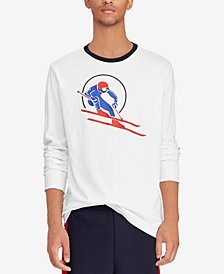 Polo Ralph Lauren Downhill Skier Men's Classic-Fit T-Shirt