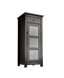 Chesterfield Floor Cabinet, 1 Door and 1 Drawer