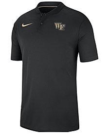 Nike Men's Wake Forest Demon Deacons Elite Coaches Polo 2018