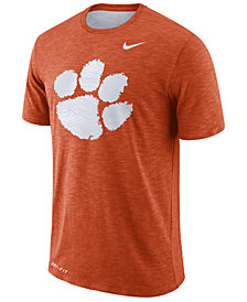 Nike Men's Clemson Tigers Dri-Fit Cotton Slub T-Shirt