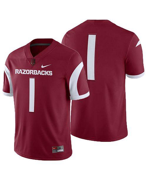 867090f6650ef Nike Men s Arkansas Razorbacks Football Replica Game Jersey - Sports ...
