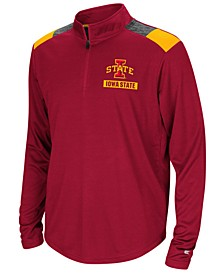 Iowa State Cyclones 99 Yards Quarter-Zip Pullover, Big Boys (8-20)