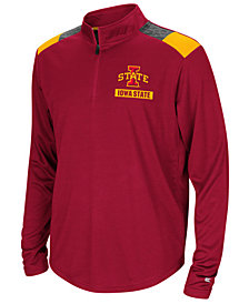 Colosseum Iowa State Cyclones 99 Yards Quarter-Zip Pullover, Big Boys (8-20)