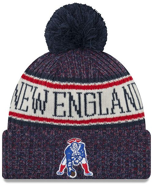a84e16bef4534 New Era New England Patriots Sport Knit Hat   Reviews - Sports Fan ...
