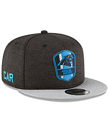 New Era Boys' Carolina Panthers Sideline Road 9FIFTY Cap