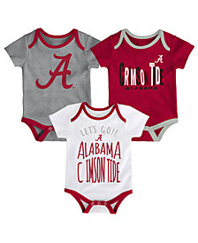 Outerstuff Alabama Crimson Tide Lil Tailgater 3 Piece Set, Infants (0-9 Months)