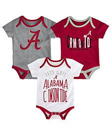 Outerstuff Alabama Crimson Tide Lil Tailgater 3 Piece Set, Infants (0-9 Months)