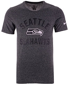 Nike Men's Seattle Seahawks Marled Gym Arch T-Shirt
