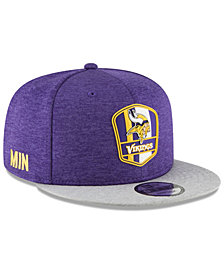 New Era Boys' Minnesota Vikings Sideline Road 9FIFTY Cap