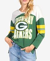 Junk Food Women s Green Bay Packers Liberty Throwback Raglan T-Shirt 123549508