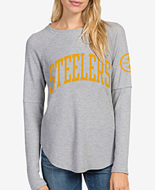 Junk Food Women's Pittsburgh Steelers Thermal Long Sleeve T-Shirt