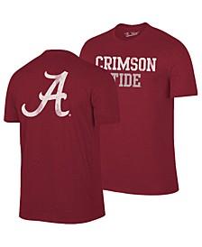 Men's Alabama Crimson Tide Team Stacked Dual Blend T-Shirt