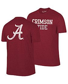 Retro Brand Men's Alabama Crimson Tide Team Stacked Dual Blend T-Shirt
