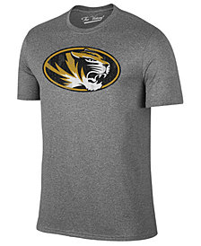 Retro Brand Men's Missouri Tigers Alt Logo Dual Blend T-Shirt
