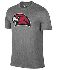 Retro Brand Men's Miami (Ohio) Redhawks Alt Logo Dual Blend T-Shirt