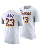 a3ebf57c0 Nike Men s LeBron James Los Angeles Lakers Icon Player T-Shirt