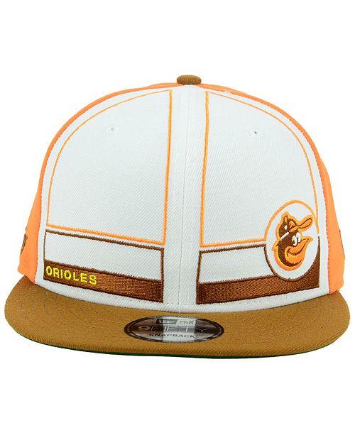 sports shoes 70137 e8436 ... New Era Baltimore Orioles Topps 1983 9FIFTY Snapback Cap ...
