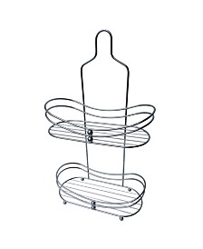 Chrome Rounded Edge Shower Caddy