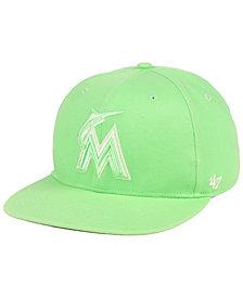 '47 Brand Miami Marlins Island Snapback Cap