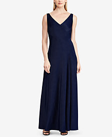 Lauren Ralph Lauren Sleeveless Gown