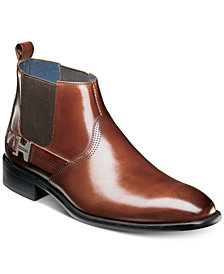 Stacy Adams Men's Joffrey Plain Toe Chelsea Boots