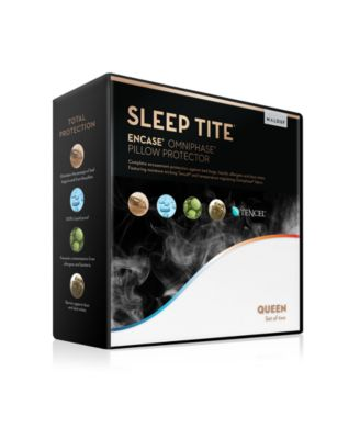 Sleep Tite Queen Encase Omniphase / Tencel Pillow Protector