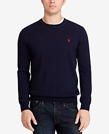 Men's Merino Wool Crew-Neck Sweater