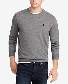 Men's Merino Wool Crew-Neck Sweater