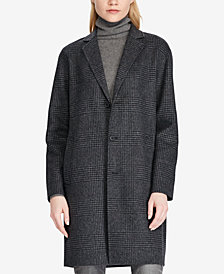 Polo Ralph Lauren Plaid Trench Coat
