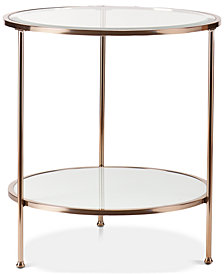 Risa End Table, Quick Ship