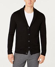Tasso Elba Men's Shawl-Collar Cardigan, Created for Macy's