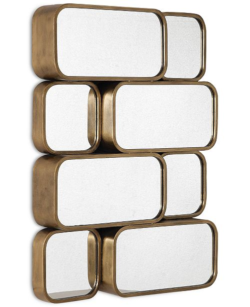 Uttermost Canute Modern Gold Mirror