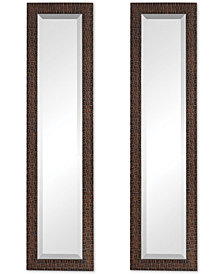 Uttermost Ailani Burnished Brown Mirror Set of 2